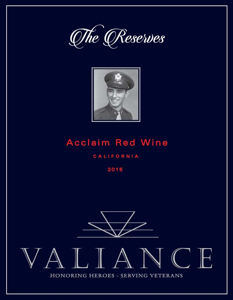 VALIANCE THE RESERVES FRONT LABEL RED GREY