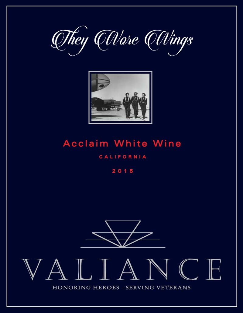 VALIANCE THEY WORE WINGS FRONT LABEL WHITE GREY